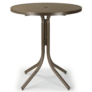 Order Aluminum Slat 36 inch  Round Dining Table Best reviews