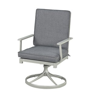 Dinan Swivel and Rocking Arm Chair by Red..