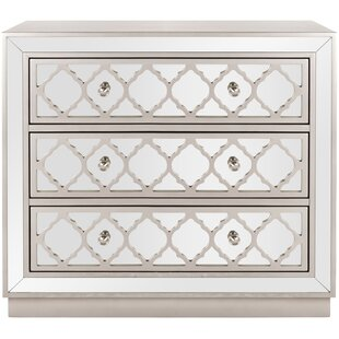Agathon 3 Drawer Chest by Rosdorf Park
