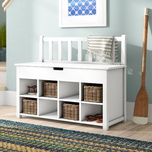 Breakwater Bay Harrow Storage Bench