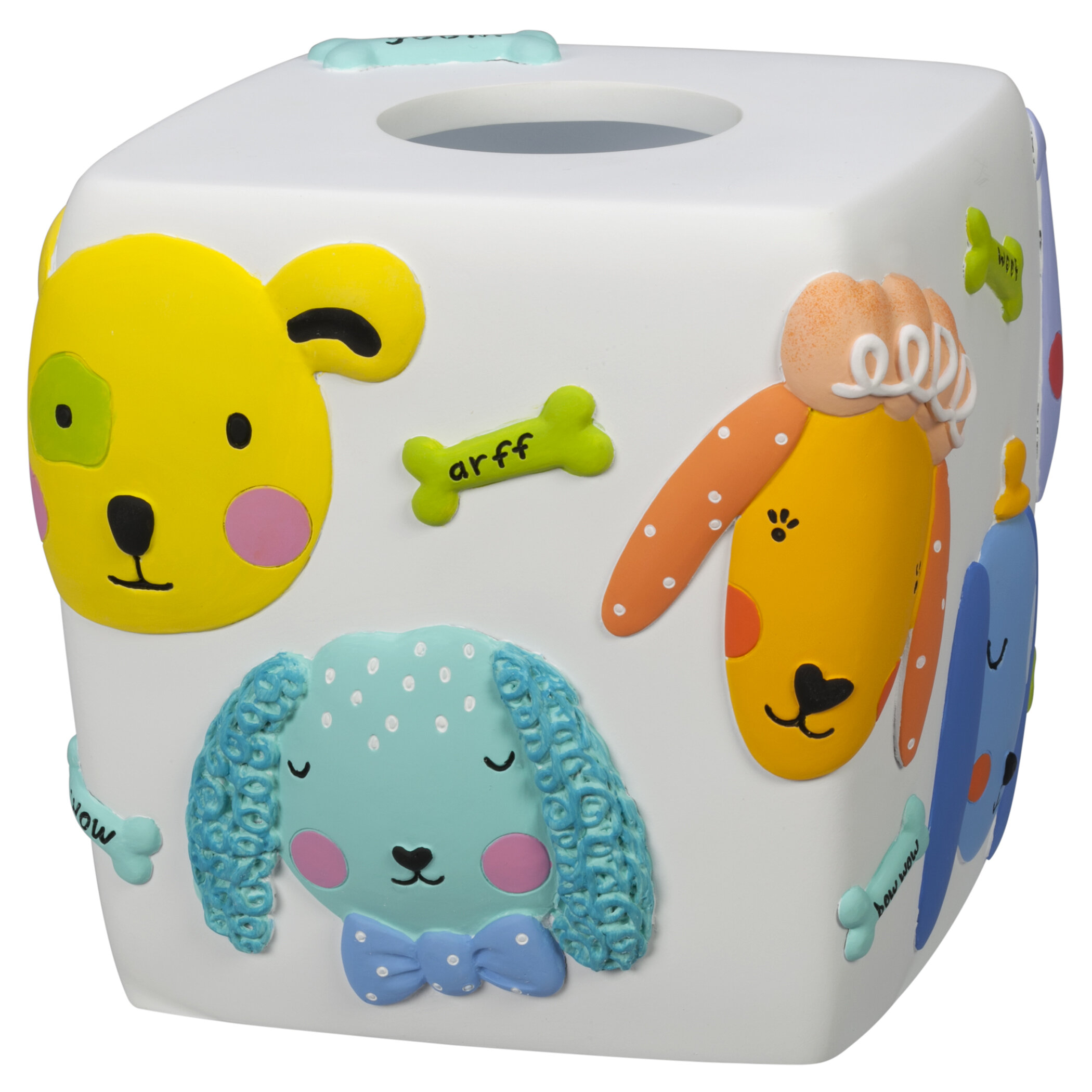 Zoomie Kids Chaney Resin Tissue Box Cover Wayfair