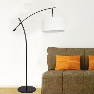 Best Reviews Harman 69 Arched Floor Lamp By Ebern Designs