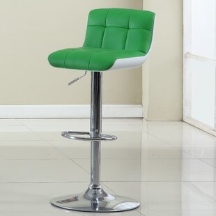 Adjustable Height Swivel Bar Stool Hokku Designs