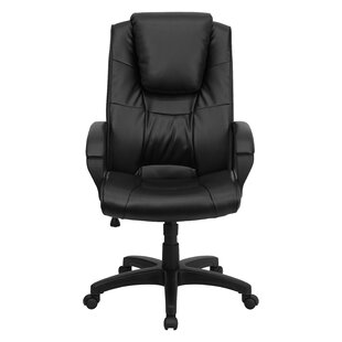 Symple Stuff Wolken High-Back Leather Executive Chair