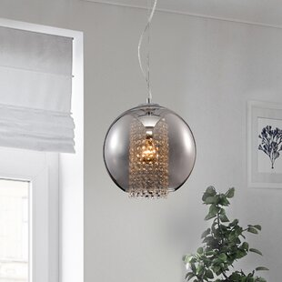 Jeb 1-Light Globe Pendant by House of Hampton
