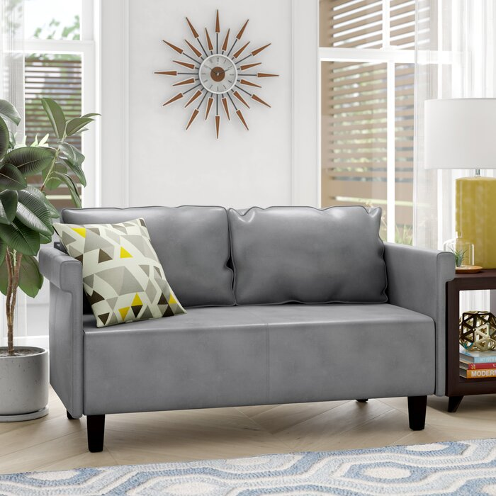 Enjoyable Bruno Settee Bralicious Painted Fabric Chair Ideas Braliciousco