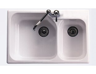 Rohl Kitchen Sink in Matte Black