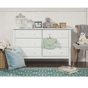 Jayden 6 Drawer Double Dresser By DaVinci