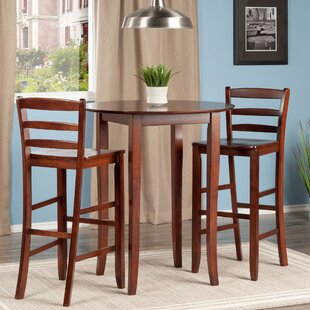 Weldon 3 Piece Pub Table Set by Red Barrel Studio