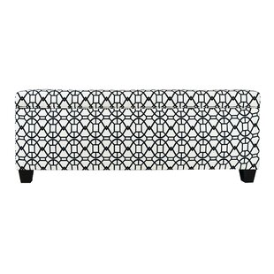 The Sole Secret Noah Fabric Storage Bench