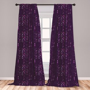 Purple Curtains For Bedroom Wayfair
