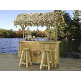 Corona 3 Piece Tiki Bar Set