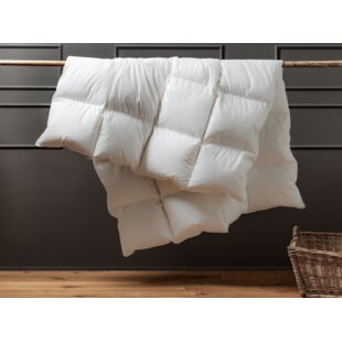 Hungarian Goose Feather & Down 4.5 Tog Duvet By Die Zudecke