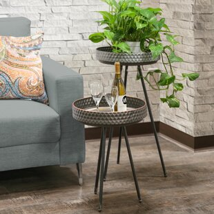 Great Price Hadlee Round 2 Piece Nesting Tables ByBungalow Rose