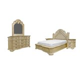 Standard Solid Wood 5 Piece Bedroom Set by Charlton Home®