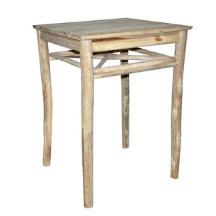 Tatyana Teak Bar Table By Alpen Home