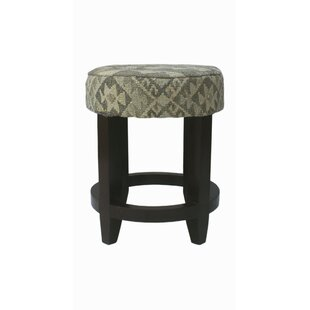 Rucker Accent Stool by World Menagerie