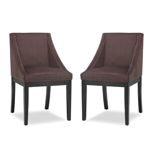 Ivy Bronx Melson Upholstered Dining Chair (Set of 2)