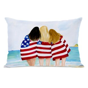 7a1c81996867 Hollenbeck American Girls Beach Lumbar Pillow