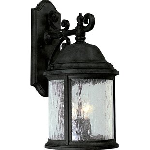 Price Check Drumakeely 3-Light Outdoor Wall Lantern By Alcott Hill