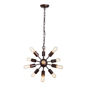 Williston Forge 12-Light Chandelier