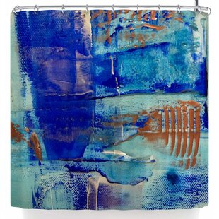 Malia Shields The Blues 4 Single Shower Curtain