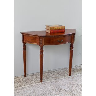 Astoria Grand Abramson Hand Carved Console Table