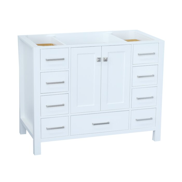 Cambridge 42 Single Bathroom Vanity Base Only