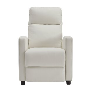 Cream Leather Recliner Chair | Wayfair