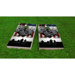 Custom Cornhole Boards US Army Cornhole Game Set
