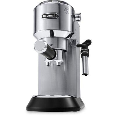 DeLonghi 1-Cup Pump Espresso Machine Coffee Maker DeLonghi Color: Silver