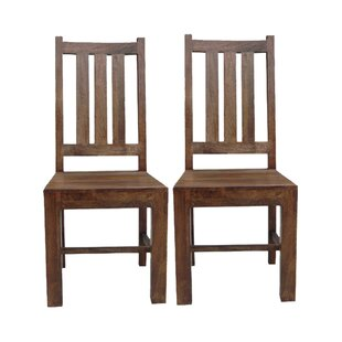 Quinton Solid Wood Dining Chair (Set Of 2) By Union Rustic