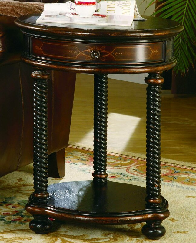 Wescott End Table With Storage
