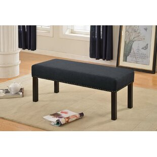 Coulombe Upholstered Bench by Winston Porter