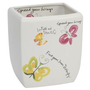 Creative Bath Flutterby Waste Basket