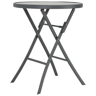 Burger Folding Steel Bistro Table Image