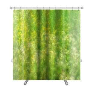 Bravo Field with Wildflowers Premium Single Shower Curtain