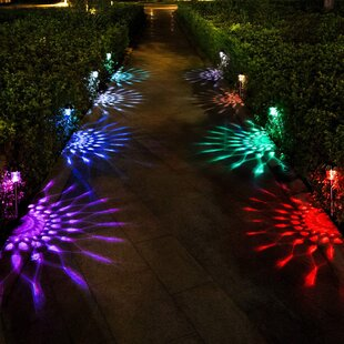 Low Voltage Solar Powered Integrated LED Pathway Light (Set of 8)