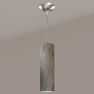 Crossroads 1-Light Cylinder Pendant by A19