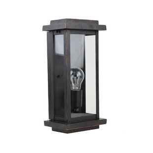 Clearance Cliffsage 1-Light Outdoor Flush Mount By Loon Peak