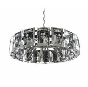 Giada 9-Light Crystal Chandelier by Kalco