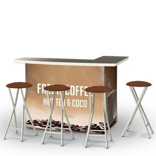 Shop For Coffee 7 Piece Bar Set Price Check