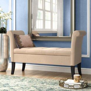 Willa Arlo Interiors Lazzaro Upholstered Storage Bench