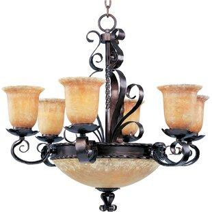 Inexpensive Willer 9-Light Shaded Chandelier By Fleur De Lis Living