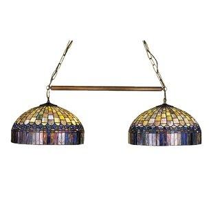 Meyda Tiffany Tiffany Candice 2-Light Pool Table Light