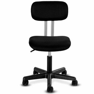 Starbuck Armless Mid-back Mesh Office Chair Swivel Height Adjustable Office Desk Task