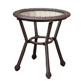 Anchor Lane Resin Wicker Bistro Table