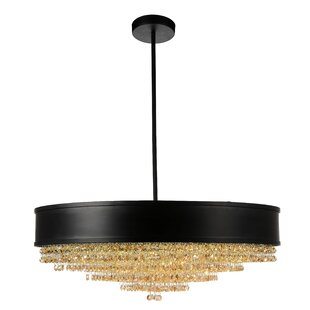 Everly Quinn Mali 10-Light Drum Chandelier