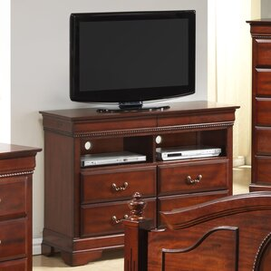 Cavender 4 Drawer Media Chest by Darby Home Co