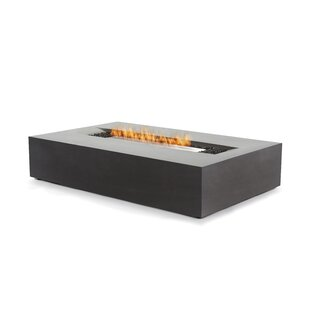 Flo Concrete Bio-ethanol Fuel Fire Pit Table